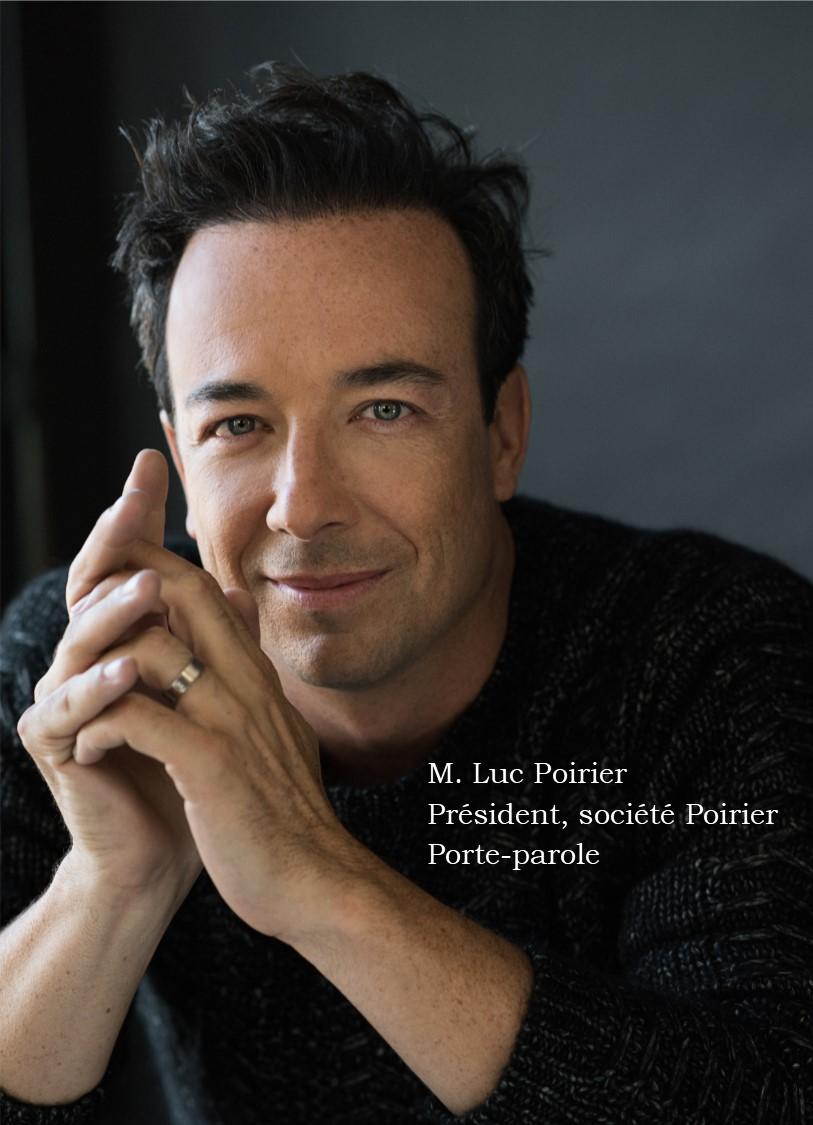 Luc Poirier, Président
